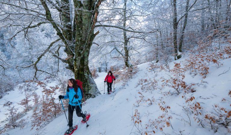 Winter trail Italië